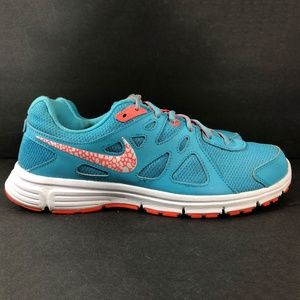 Nike Revolution 2 Clearwater Blue Running Shoes Women's Size 12